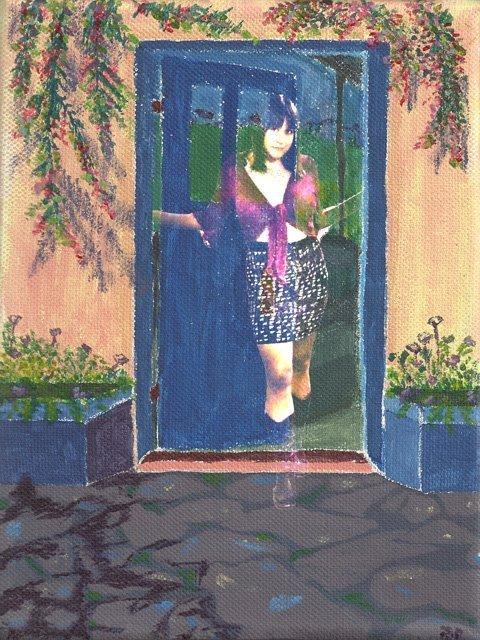 Jo Open Door Stance